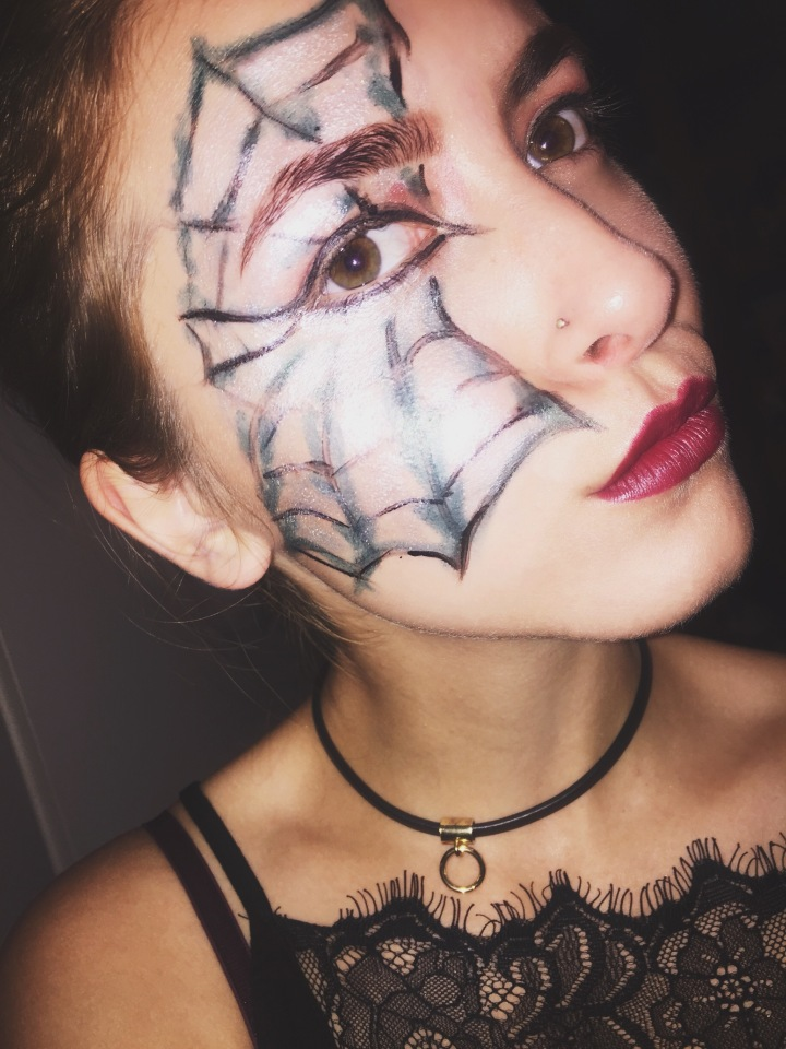 LAST MINUTE HALLOWEEN MAKE-UP